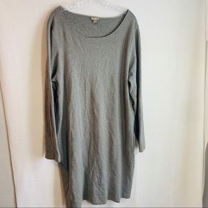 J Jill woman's sweater dress